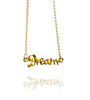 Pendant Necklace | Dream | 18K Yellow Gold Plated Sterling Silver
