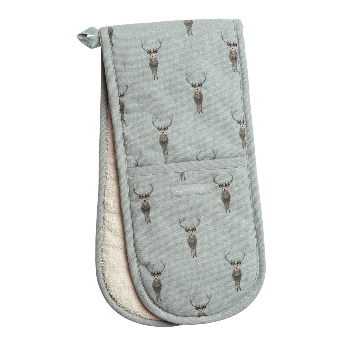 Highland Stag Double Oven Glove
