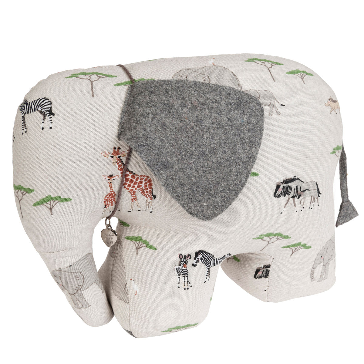 Safari Elephant Door Stop