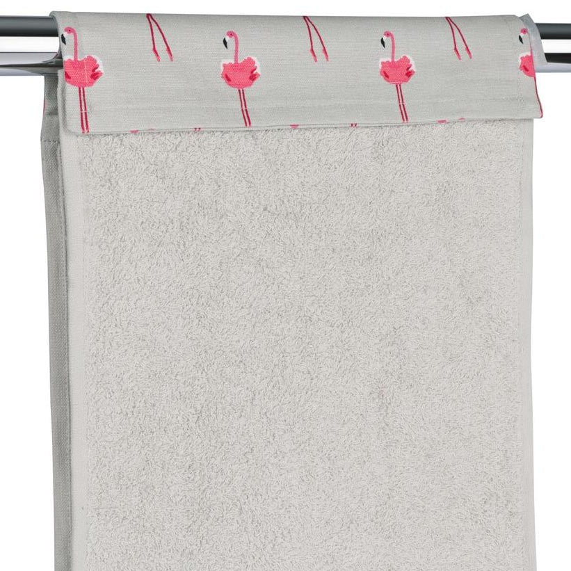 Flamingos Roller Hand Towel