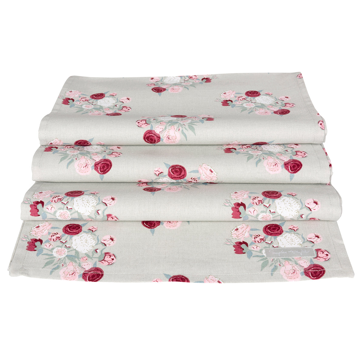 Peony Table Runner