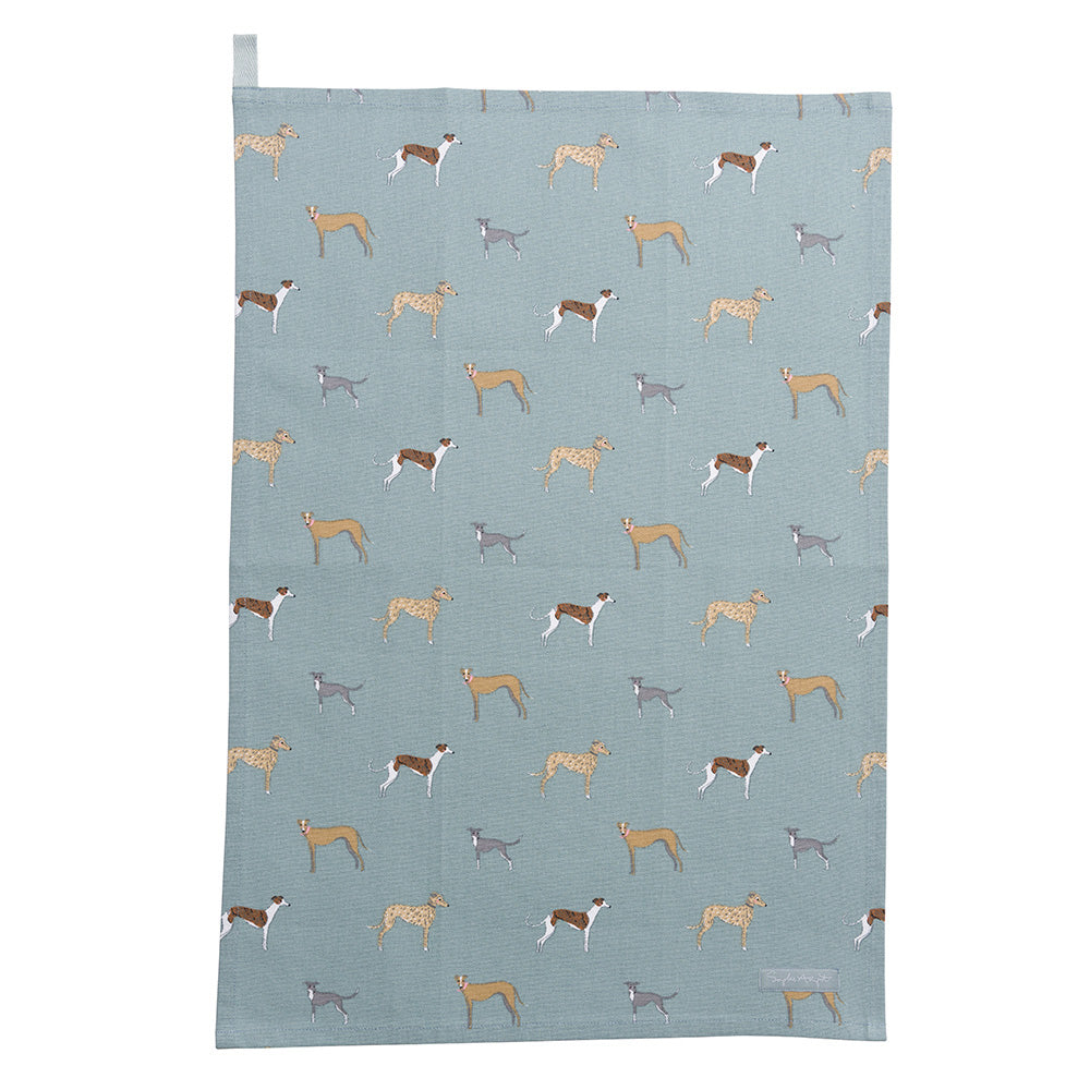 Speedy Dogs Tea Towel