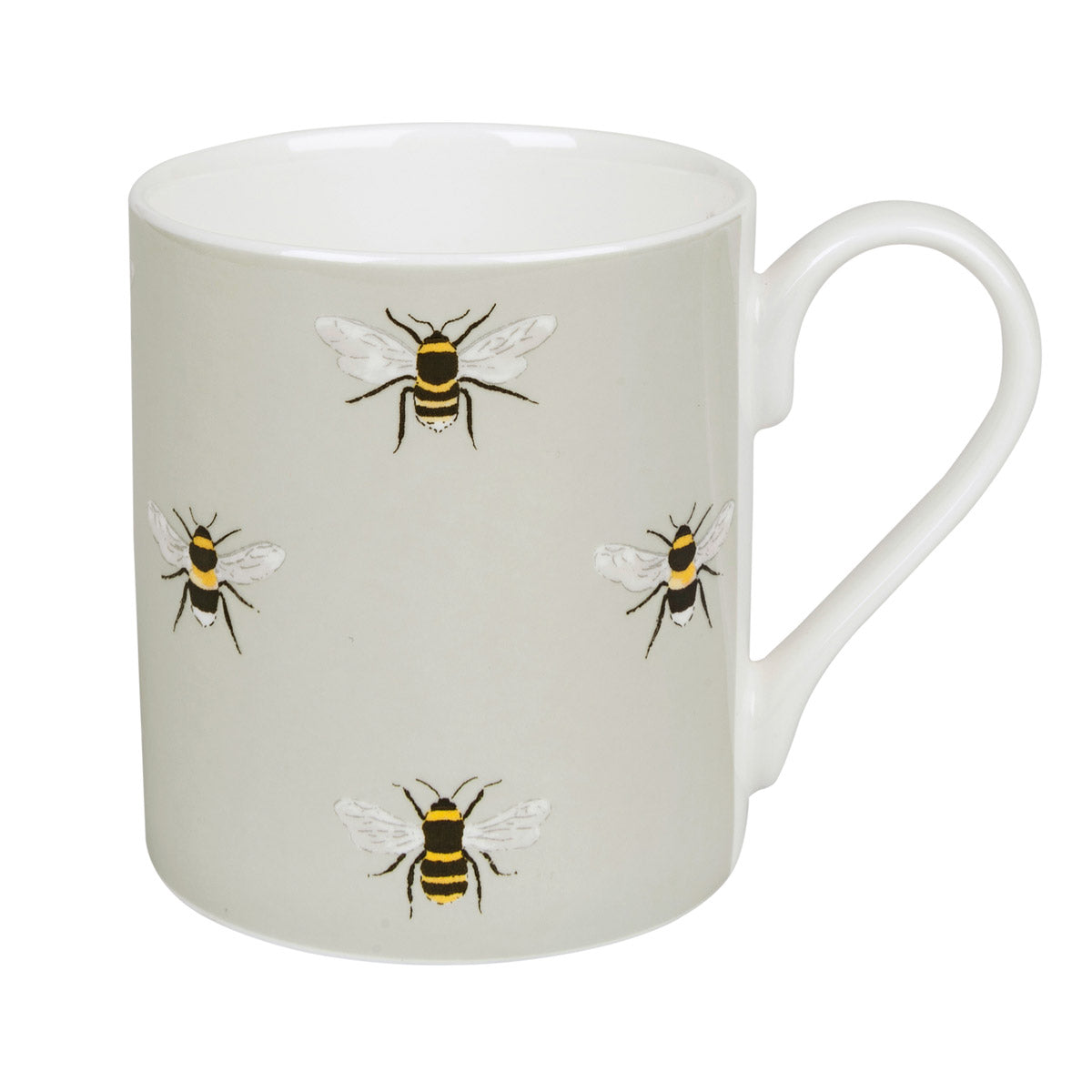 Bees Coloured Mug