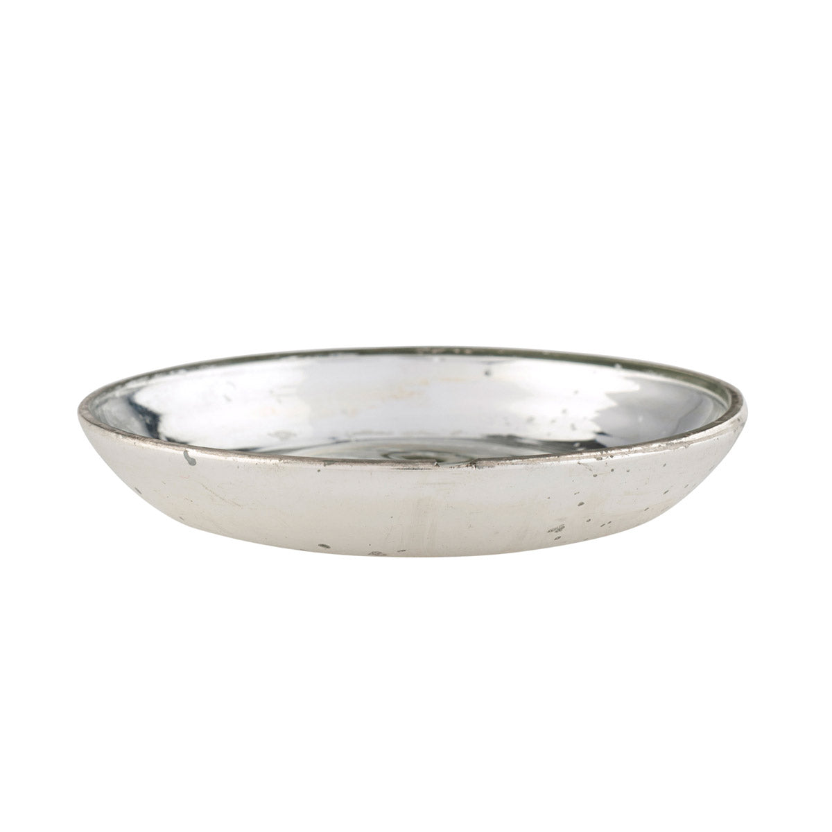 Mini Decorative Dish - Antiqued Silver
