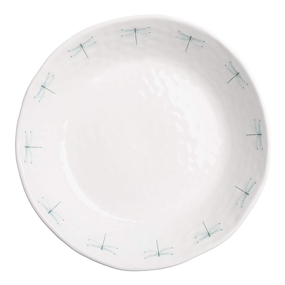 Dragonfly Dimpled Serving Dish