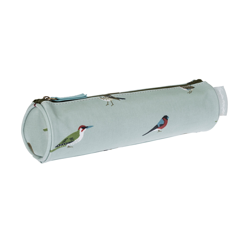 Garden Birds Small Oilcloth Pencil Case