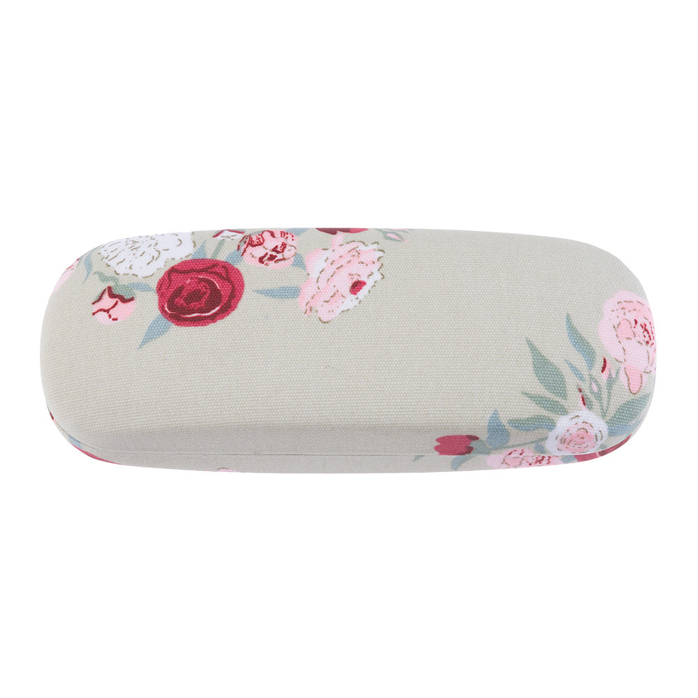 Peony Oilcloth Glasses Hard Case