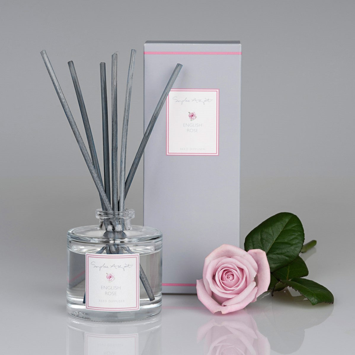 English Rose Scented Reed Diffuser