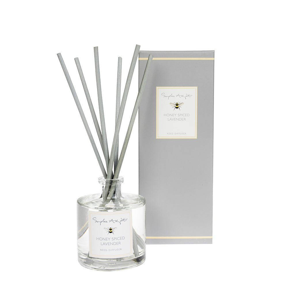 Honey Spiced Lavender Scented Reed Diffuser