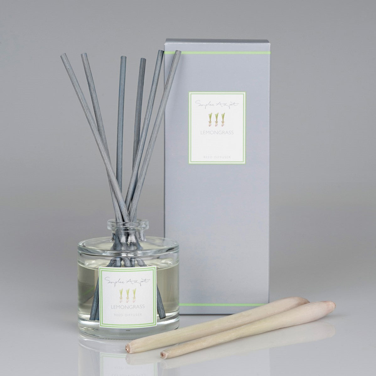 Lemongrass Scented Reed Diffuser