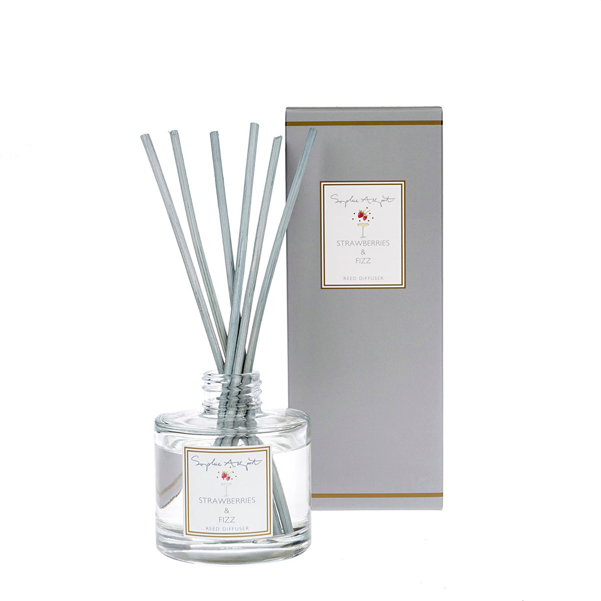 Strawberries & Fizz Scented Reed Diffuser