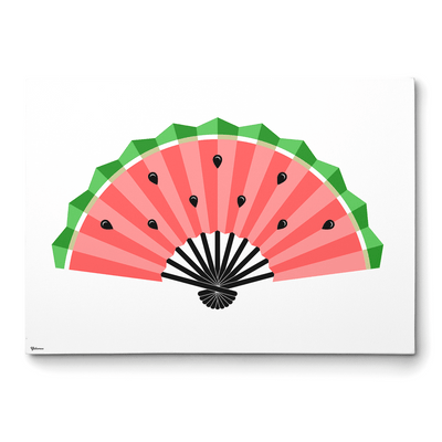 Kitchen Canvas Art,Wall Art for Kitchen,Watermelon Art print,Yislamoo
