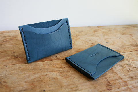 Standard Card Holder (Special Edition Indigo Latigo)