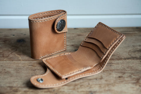 Snap Wallet (Saddle Tan)