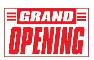 Grand Opening 3x5 Foot Banner