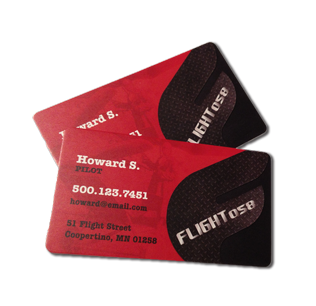 "Full Color 16pt 3.5x2"" - 1/8"" Rounded Business Cards"