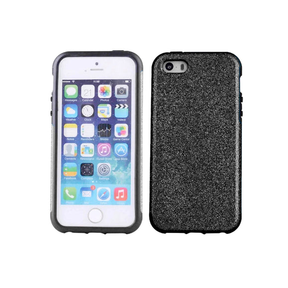 iPhone 7 Glitter Case - Black