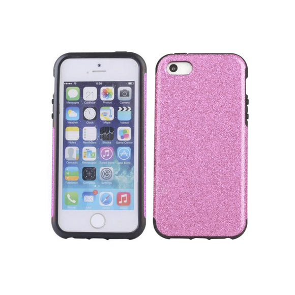 iPhone 7 Glitter Case - Pink - Tangled - 1