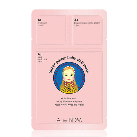 A.by Bom Super Power Baby Doll Mask