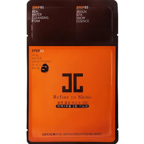 Jayjun Real water brigtening  black mask (1EA)