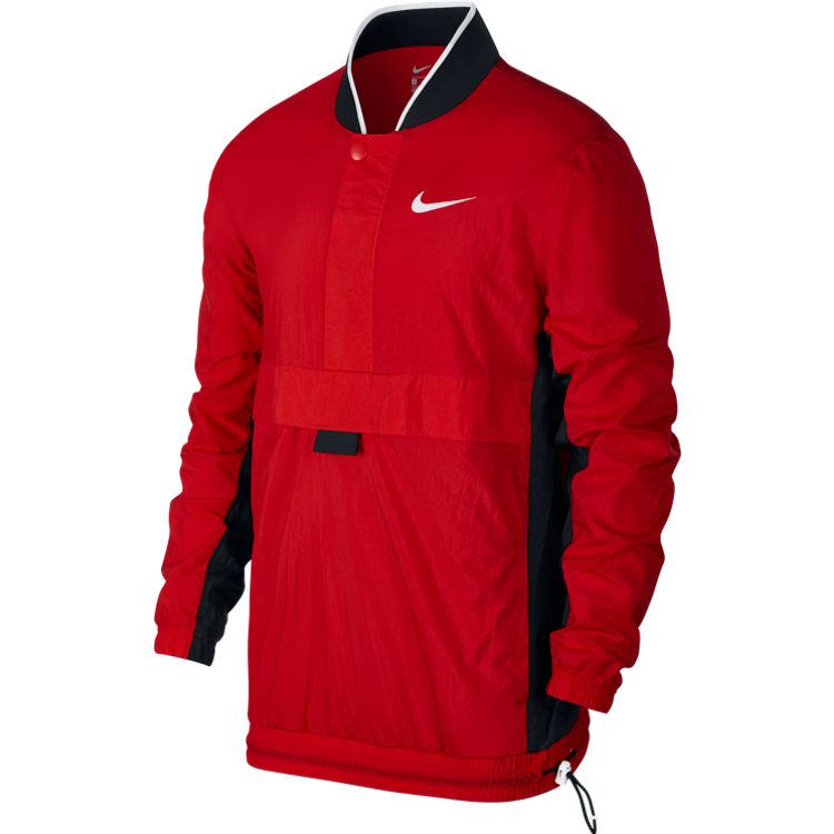 Nike Throwback Basketball Jacket 'University Red'