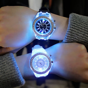 Led Flash Luminous Watch - Trending products for less