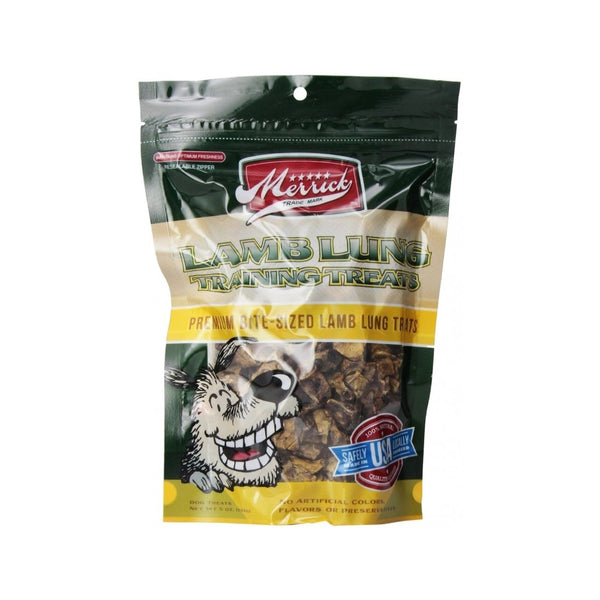 Lamb Lung - Merrick Training Treats Weight : 5oz