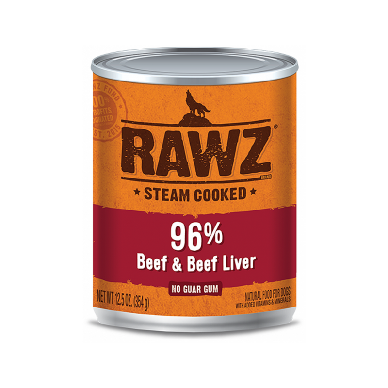 Canned 96% Beef & Liver Weight : 12.5oz