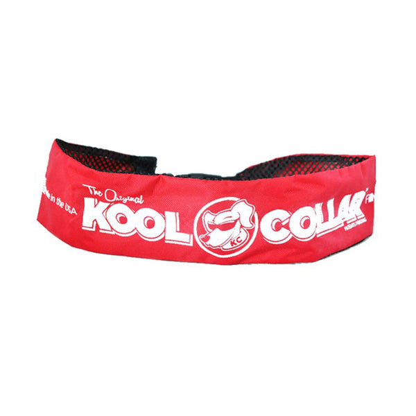 "Kool Collar Color : Red, Size : 11"" - 17.5"" Small"