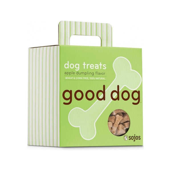 Hand-Baked Good Dog Snacks 8oz Flavor : Apple Dumpling