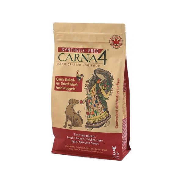 Carna4 Dog Food Chicken Weight : 3lb