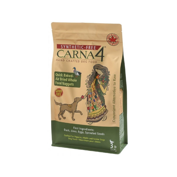 Carna4 Dog Food Grain Free Duck Weight : 22lb