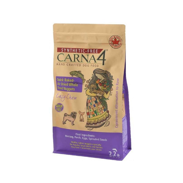 Carna4 Dog Food Easy Chew Fish Weight : 2.2lb