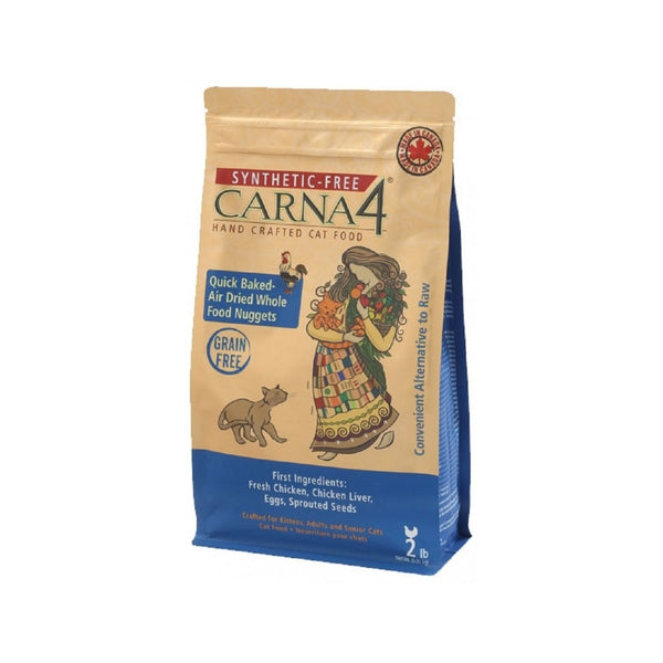 Feline Carna4  Grain Free Chicken Food Weight : 2lb