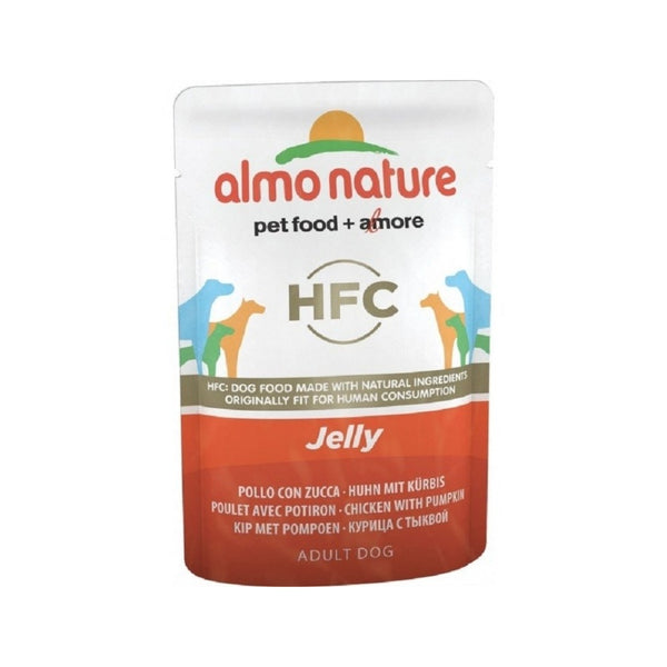 Chicken & Pumpkin Jelly Pouch for Dogs Weight : 70g