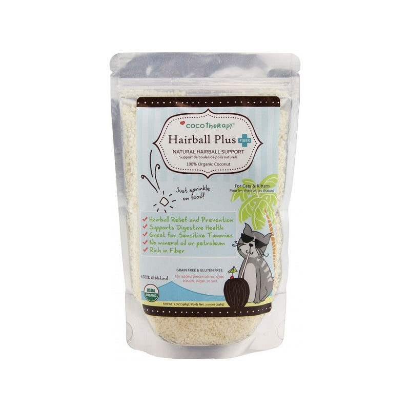 CocoTherapy Cat Hairball Plus Weight : 7oz