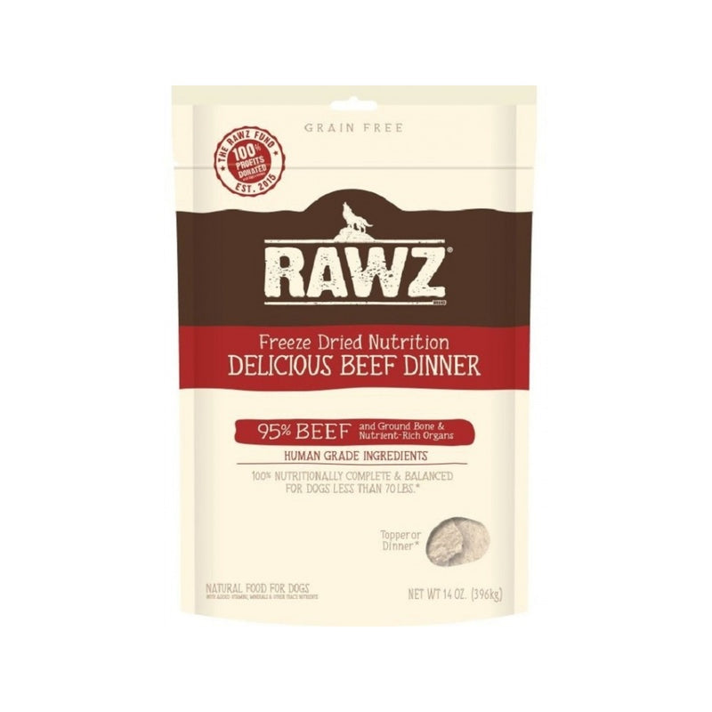 Freeze Dried Beef Weight : 5oz