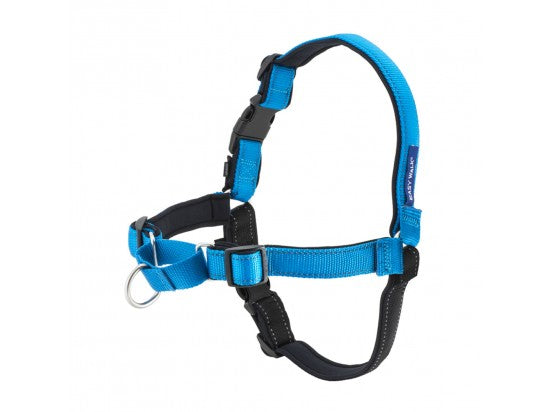 Deluxe Easy Walk Harness Color : Ocean, Size : Large