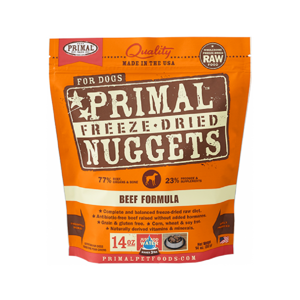 Freeze Dried Beef Nuggets Weight : 14oz