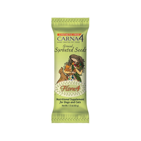 Topper Flora4 Sprouted Seed Weight : 1.5oz
