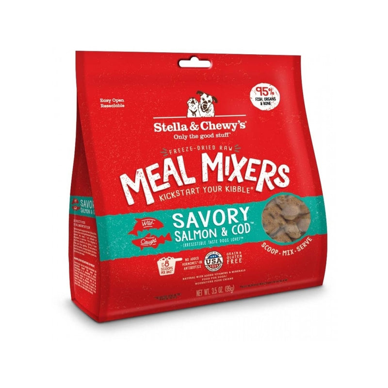 Freeze Dried Raw Meal Mixer Salmon & Cod Weight : 18oz