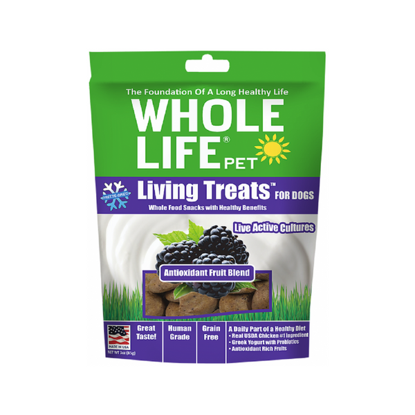 Living Treats Antioxidant Fruit Blend Weight : 3oz
