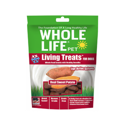 Living Treats Real Sweet Potato Weight : 3oz