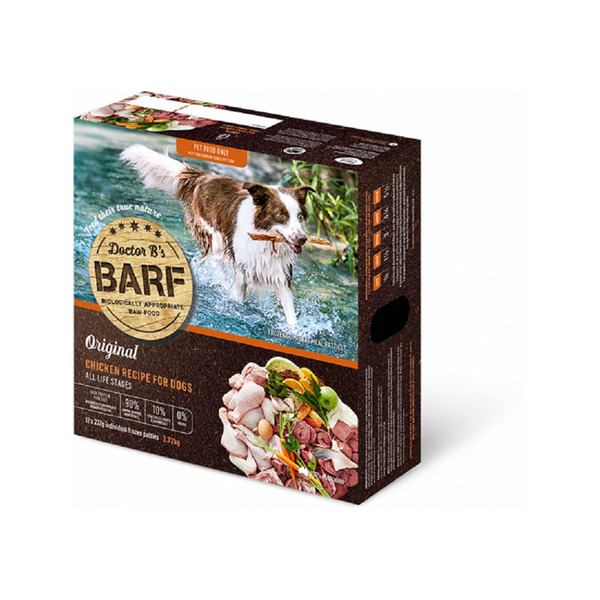 Canine Raw BARF - Chicken Weight : 2.72kg x 12