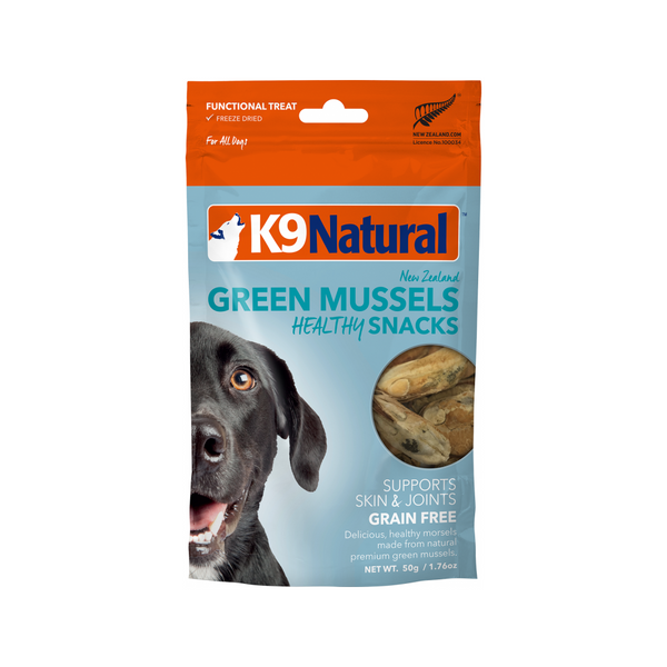 Ocean Farmed Green Mussel Bites Weight : 50g