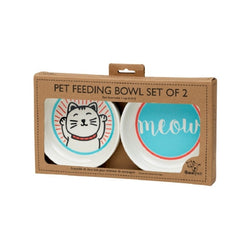 Ore Bowl Gift Set Lucky Cat