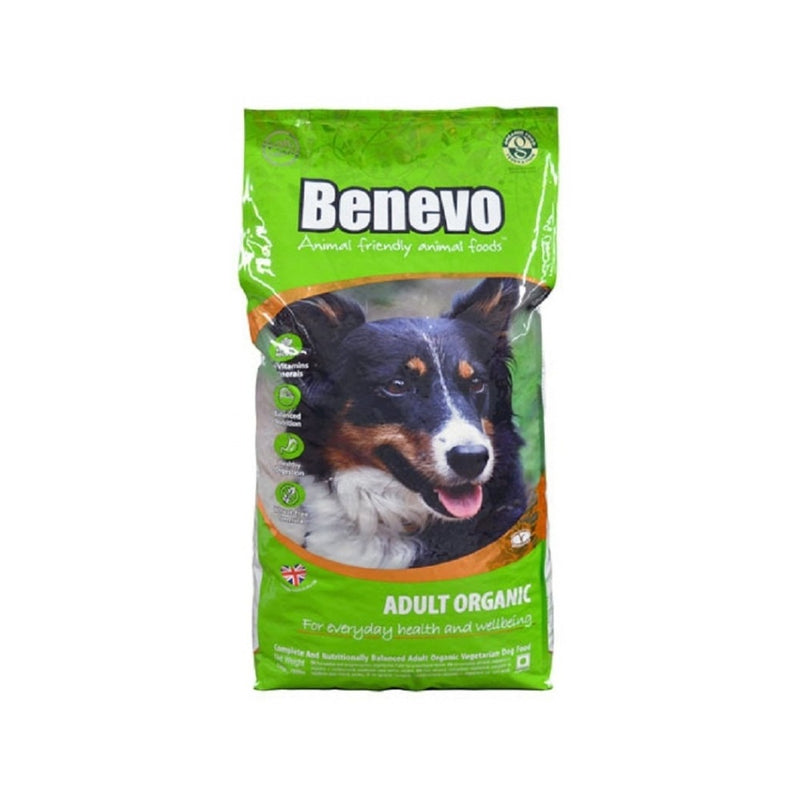 Organic Vegan Adult Dog Food Weight : 2kg