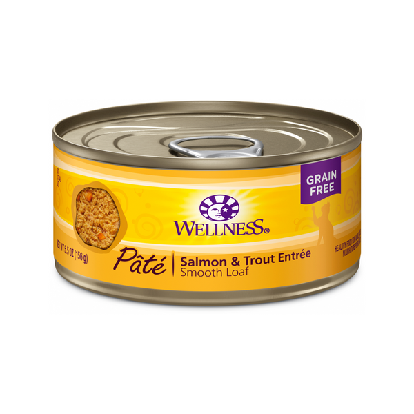 Pate Smooth Loaf Salmon & Trout Entree Weight : 3oz