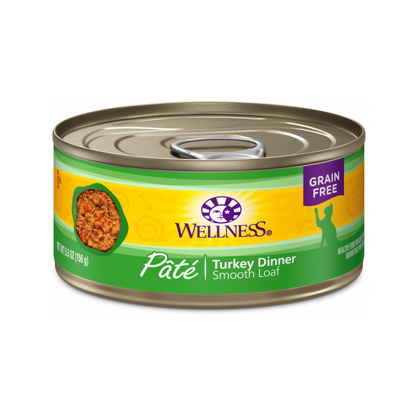 Pate Smooth Loaf Turkey Dinner Weight : 3oz