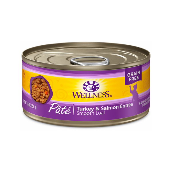 Pate Smooth Loaf Turkey & Salmon Entree Weight : 3oz